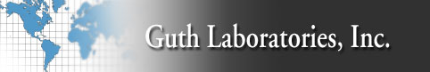 logo firmy guth laboratories